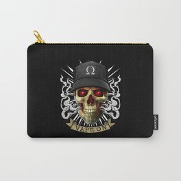 Vaping Skull - Vape On - Cloud Chaser - Vaper Carry-All Pouch