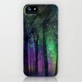 Magic Night Sky iPhone Case