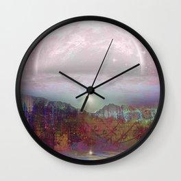 Dawn Painted Hills Wall Clock