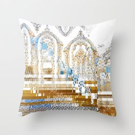 Purity and Corruption Throw Pillow
