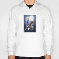 jack frost Hoodies featuring Jack Frost by SpaceMonolith