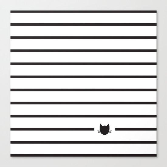 Classic Stripes 03 Canvas Print
