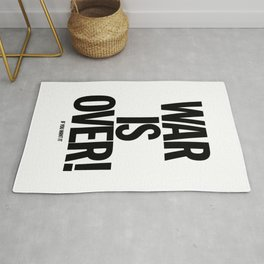 War Is Over - If You Want It Rug