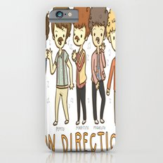 Juan Direction One Direction Cartoon iPhone 6s Slim Case