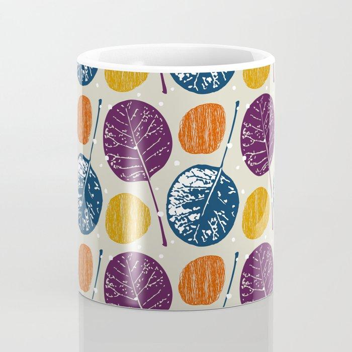 Leaves and yarns Coffee Mug