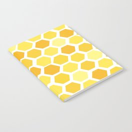 Beehive Pattern by Friztin Notebook
