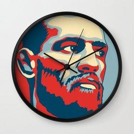 "Conor McGregor ""Hope"" Poster Wall Clock"