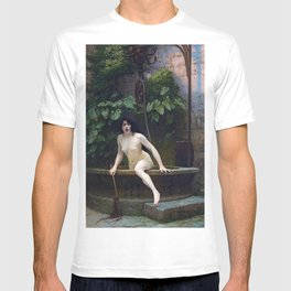 TRUTH COMING OUT OF HER WELL TO SHAME MANKIND - JEAN-LEON GEROME T-shirt
