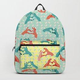 Valentine's Hands Backpack