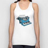 party Tank Tops featuring The Composition. by Matt Leyen