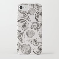 shells iPhone & iPod Cases featuring shells by sustici