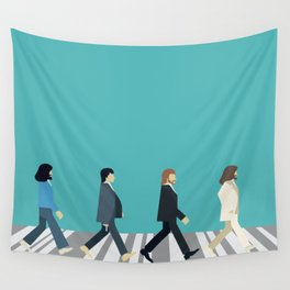 The tiny Abbey Road Wall Tapestry