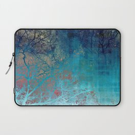 On the verge of Blue Laptop Sleeve