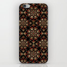 Turkish tulip - Ottoman tile pattern 15 iPhone Skin