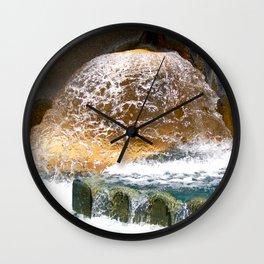 Colorful Water Drain Wall Clock