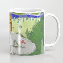 King Arthur Extracts Excalibur Coffee Mug