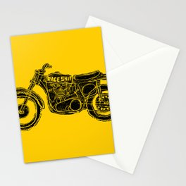 race shit Stationery Cards