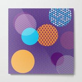 Japanese Patterns 07 Metal Print