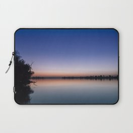 Sunset at the lake. Laptop Sleeve