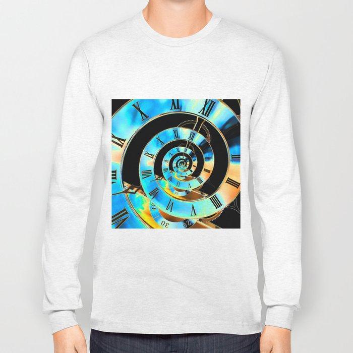 Infinite Time Blue Long Sleeve T-shirt