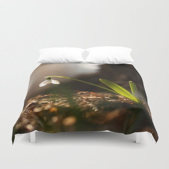 Light In Shade Duvet Cover