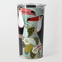 Toucans by Andrea Lauren  Travel Mug