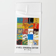 A Hell-Songbook-Edition Complete # 1 - 20 Beach Towel