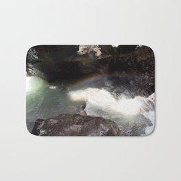 Box Canyon Falls - Rainbow on the Mist Bath Mat