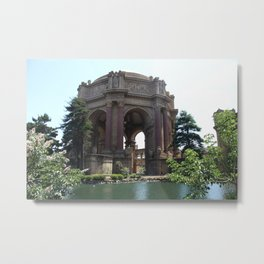 Palace Of Fine Arts - San Francisco Metal Print