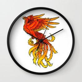 Phoenix #4 Wall Clock