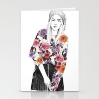 gemma Stationery Cards featuring Gemma Sketch by Coconut Wishes