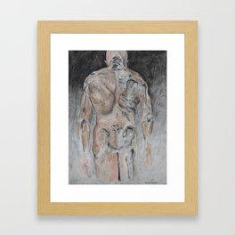 Deaths Door Framed Art Print