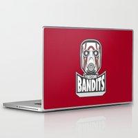 borderlands Laptop & iPad Skins featuring Fyrestone Bandits by adho1982