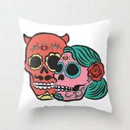 Calaveras Throw Pillow