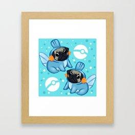Pugkip Framed Art Print