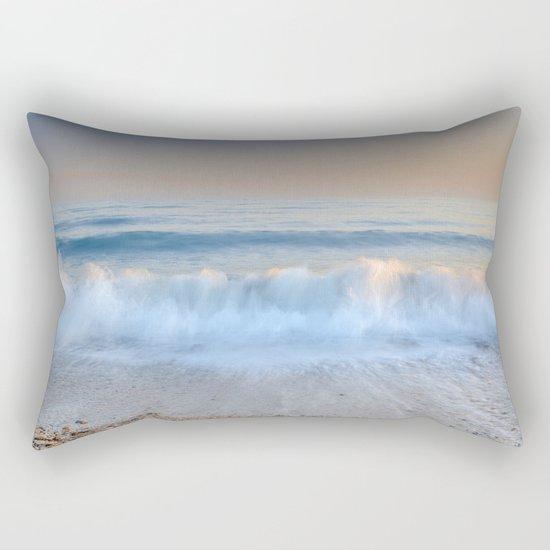 """Looking at the waves II"" Sea dreams Rectangular Pillow"