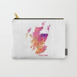 Scotland map #scotland #map Carry-All Pouch