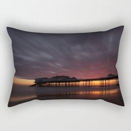 Cromer Pier - Pre Sunrise Rectangular Pillow