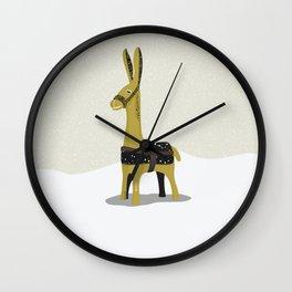 Donkey graphic Wall Clock