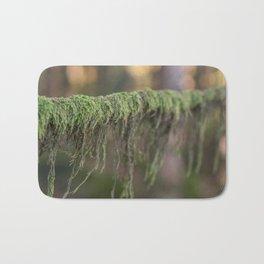 Moss on a branch Bath Mat