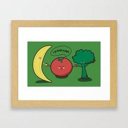 Tomatoes Go Both Ways Framed Art Print