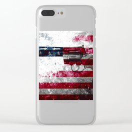Colt python 357 mag o Clear iPhone Case