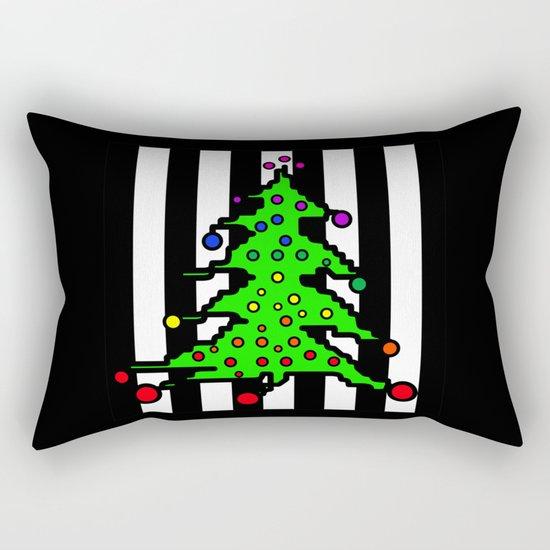 Christmas Tree | I Love Christmas Rectangular Pillow