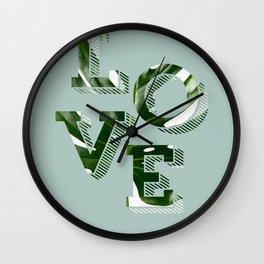 Love plants Wall Clock