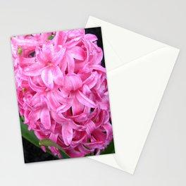 Pink Hyacinth Stationery Cards