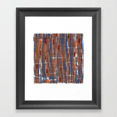 Autumn Run Framed Art Print