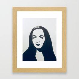 Tish! You Spoke French! Framed Art Print