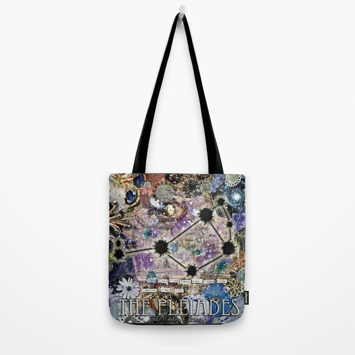 The Pleiades - The Seven Sisters Tote Bag