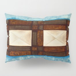 Turquoise - blue inlay Pillow Sham