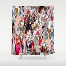 Crystal madness Shower Curtain